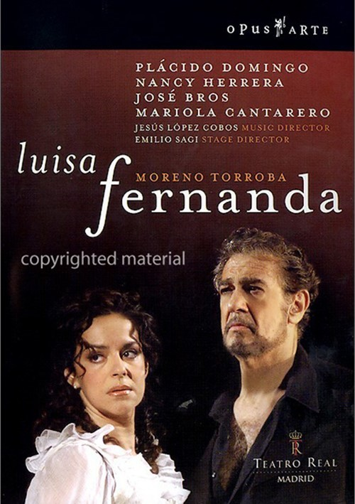 Torroba: Luisa Fernanda Movie