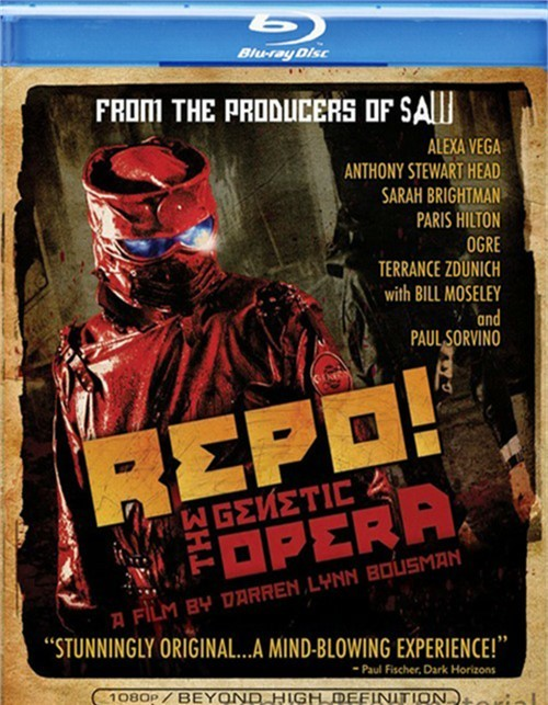 Repo! The Genetic Opera Blu-ray