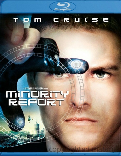 Minority Report Blu-ray