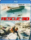 IMAX: Rescue 3D Blu-ray
