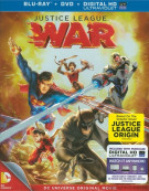 Justice League: War (Blu-ray + DVD + UltraViolet) Blu-ray