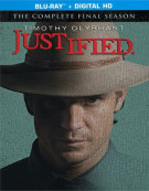 Justified: The Complete Final Season (Blu-ray + UltraViolet) Blu-ray