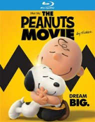 Peanuts Movie, The (Blu-ray + DVD + UltraViolet) Blu-ray