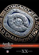 NFL Americas Game: 1985 Chicago Bears Super Bowl XX Movie