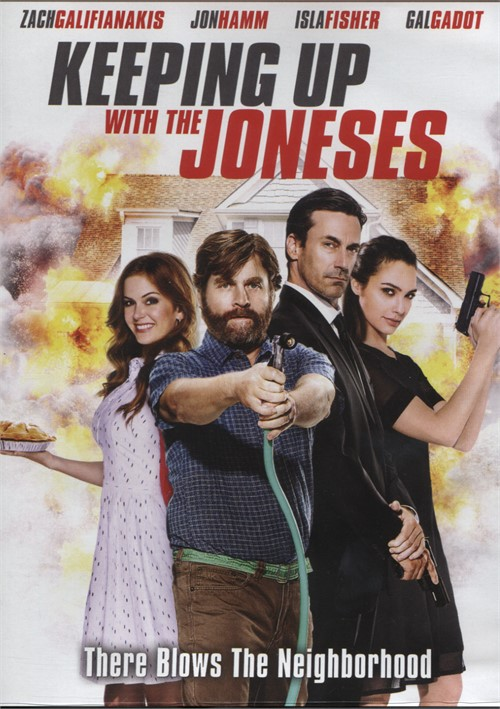 Keeping Up with the Joneses (DVD + UltraViolet) Movie
