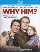 Why Him? (Blu-ray + DVD Combo + UltraViolet) Blu-ray