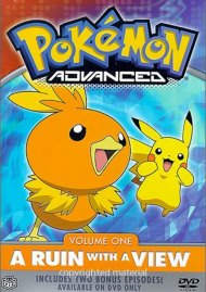 Pokemon Advanced: Volume 1 - A Ruin With A View Movie