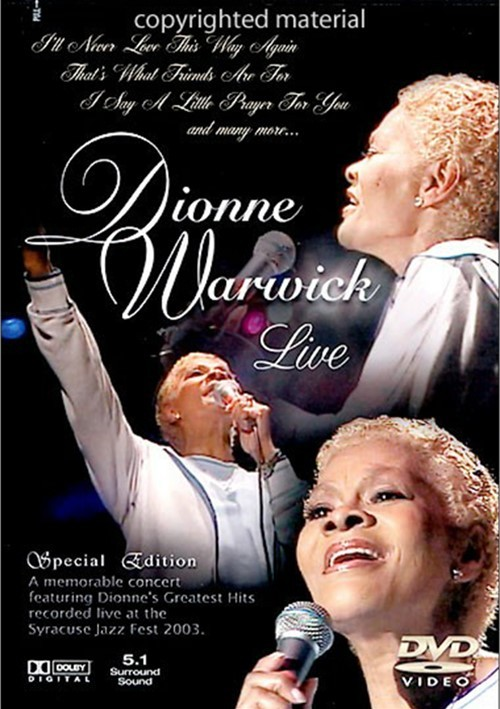 Dionne Warwick Live Movie