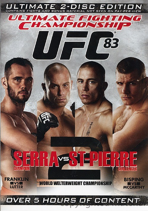 UFC 83: Serra Vs St-Pierre Movie