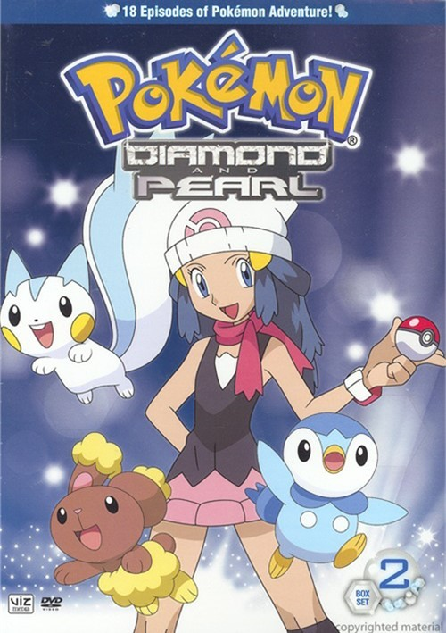 Pokemon Diamond & Pearl: Box 2 - Volumes 3 & 4 Movie