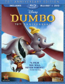 Dumbo: 70th Anniversary Edition (Blu-ray + DVD) Blu-ray