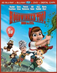 Hoodwinked Too!: Hood Vs. Evil In 3D (Blu-ray 3D + Blu-ray + DVD + Digital Copy) Blu-ray
