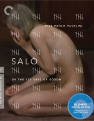 Salo: Or The 120 Days Of Sodom - The Criterion Collection Blu-ray