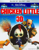 Chicken Little 3D (Blu-ray 3D + Blu-ray + DVD) Blu-ray
