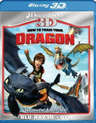 How To Train Your Dragon 3D (Blu-ray 3D + DVD Combo) Blu-ray