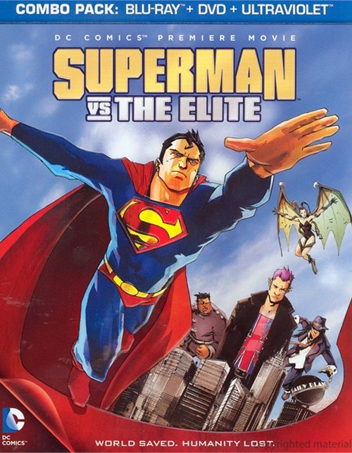 Superman Vs. The Elite (Blu-ray + DVD Combo) Blu-ray