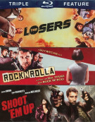 Losers / RocknRolla / Shoot Em Up (Triple Feature) Blu-ray