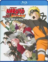Naruto Shippuden: The Movie - The Will Of Fire Blu-ray