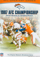 NFL Greatest Games: 1987 AFC Championship Movie