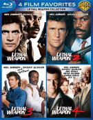 4 Film Favorites: Lethal Weapon Blu-ray