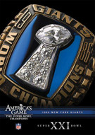 NFL Americas Game: 1986 New York Giants Super Bowl XXI Movie