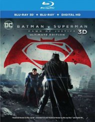 Batman V Superman: Dawn Of Justice (Blu-Ray + 3-D) Blu-ray