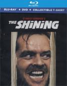 Shining,The (Blu-ray + DVD Combo + Collectible T-Shirt) Blu-ray