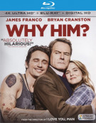 Why Him? (4K Ultra HD + Blu-ray + UltraViolet) Blu-ray