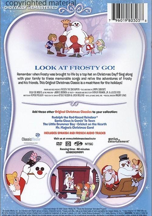 Frosty The Snowman (DVD 1969) | DVD Empire