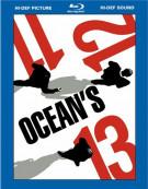 Oceans 11, 12 & 13 Giftset Blu-ray