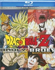 Dragon Ball Z: Broly / Dragon Ball Z: Broly Second Coming (Double Feature) Blu-ray
