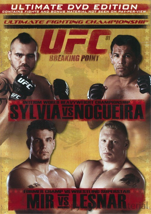 UFC 81: Breaking Point Movie