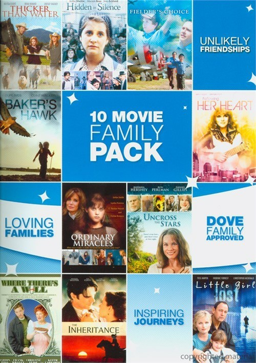10 Features Family Movie Pack Movie