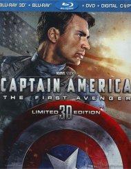 Captain America: The First Avenger 3D (Blu-ray 3D + Blu-ray + DVD + Digital Copy) Blu-ray