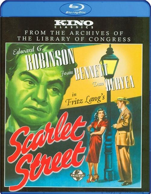 Scarlet Street Blu-ray
