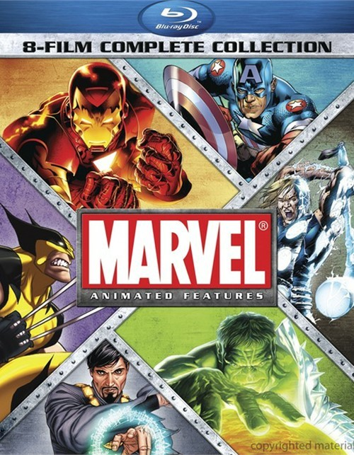 Marvel 8 Film Complete Collection Blu-ray