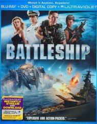 Battleship (Blu-ray + DVD + Digital Copy + UltraViolet) Blu-ray