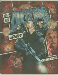 Doom: Unrated (Steelbook + Blu-ray + DVD + Digital Copy + UltraViolet) Blu-ray