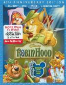 Robin Hood: 40th Anniversary Edition (Blu-ray + DVD + Digital Copy) Blu-ray