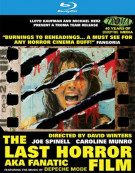 Last Horror Film (AKA Fanatic), The Blu-ray