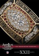 NFL Americas Game: 1987 Washington Redskins XXII Movie
