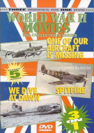 World War II Movies: One Of Our Aircraft Is Missing / Spitfire / We Dive At Dawn Movie