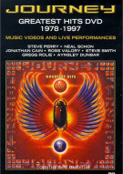 Journey: Greatest Hits DVD 1978-1997 Movie