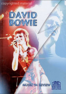 David Bowie: Music In Review Book / DVD Set Movie