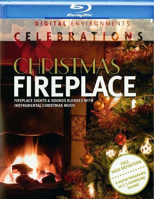 Christmas Fireplace Blu-ray