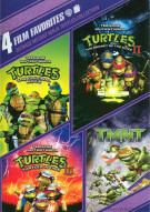 4 Film Favorites: Teenage Mutant Ninja Turtles Collection Movie