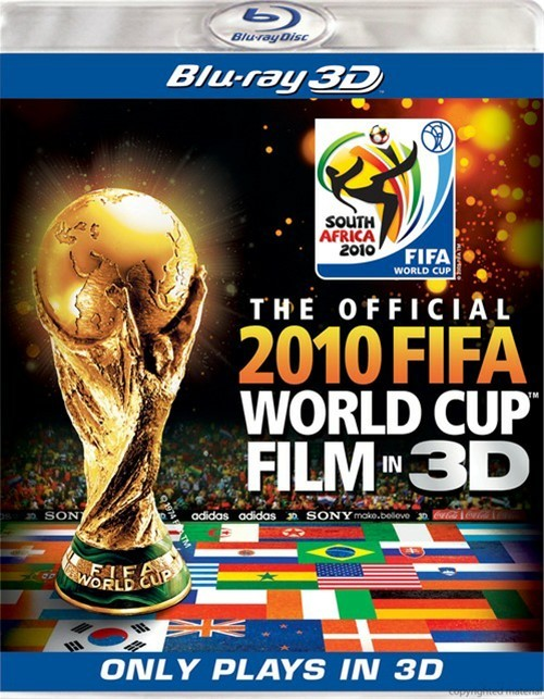 Official 2010 FIFA World Cup Film In 3D, The (Blu-ray 3D) Blu-ray