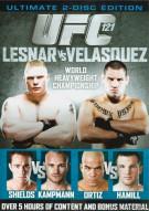 UFC 121: Lesnar Vs. Velasquez - Ultimate 2 Disc Edition Movie