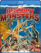 Destroy All Monsters Blu-ray
