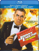 Johnny English Reborn (Blu-ray + DVD + UltraViolet) Blu-ray